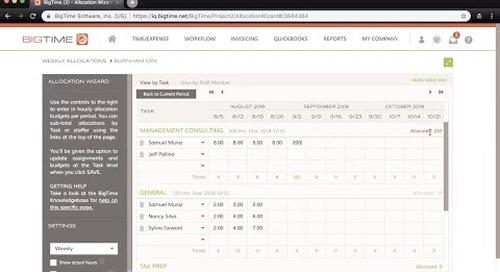 BigTime IQ Premier Features Webinar