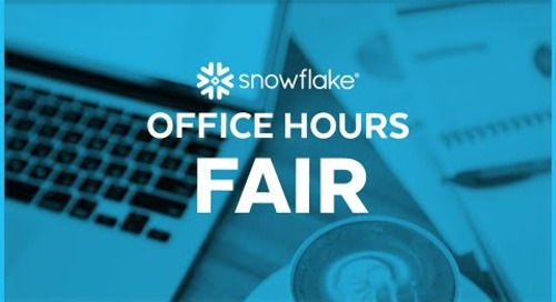 Snowflake Office Hours: Fair