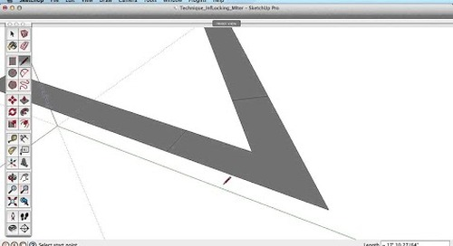 SketchUp Training Series: Inference Locking