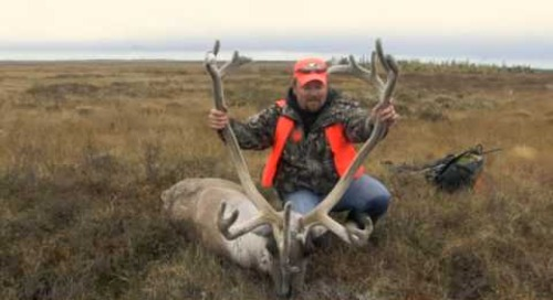 Caribou hunting in northern Manitoba