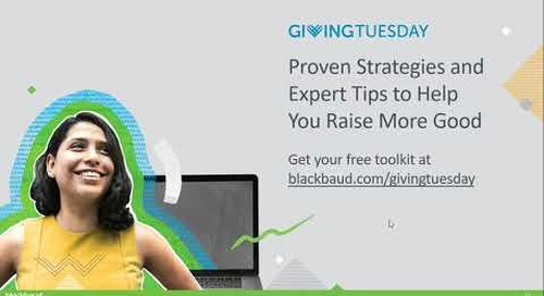 How to Build Peer to Peer into Your GivingTuesday Strategy