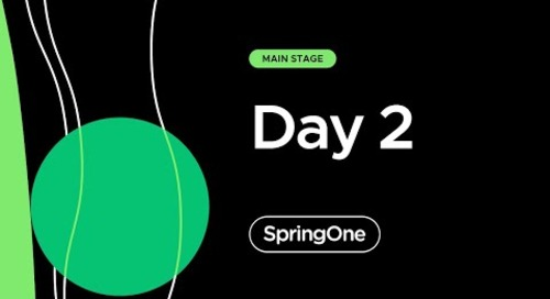 SpringOne 2021 - Day 2 Morning Full Keynote
