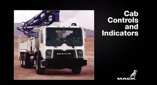 Mack TerraPro Concrete Boom Pump - Part 2: Cab Controls and Indicators