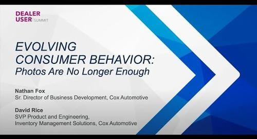 Fall Expo 2021 Replay | Evolving Consumer Behavior, Photos are No Longer Enough | vAuto