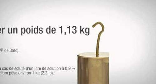 Comparaison du Tegaderm(MC) 3M(MC) et du dispositif de fixation StatLock® de Bard