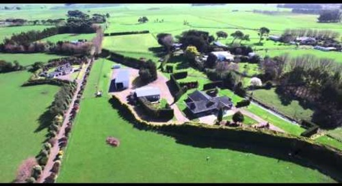 Real estate video fly over - 4K definition