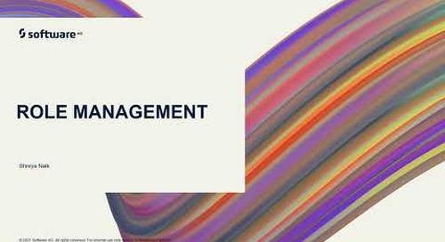 Role Management | webMethods.io Integration Tutorials