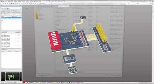 Altium Designer 14 - 3D Clearance Checking of Flex Mounted Components