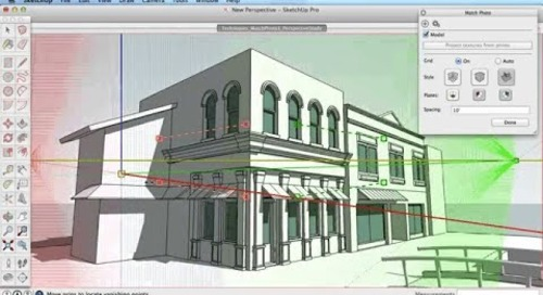 SketchUp Training Series: Match Photo part 1