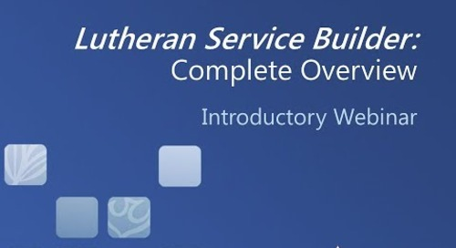 Lutheran Service Builder: Complete Overview