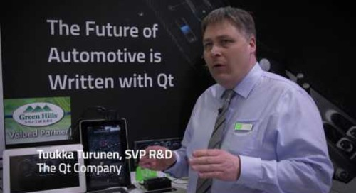 Qt at Embedded World 2017
