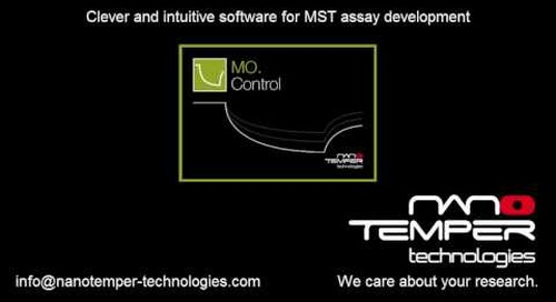 Clever and intuitive assay development using MO. Control