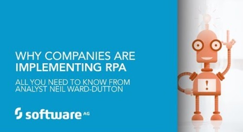 Why companies are implementing RPA