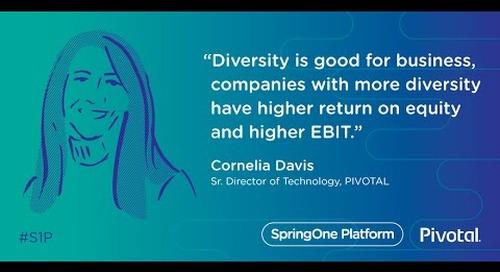 A Tale of Two Ladies: On Generating Opportunity for Women in Tech — Cornelia Davis