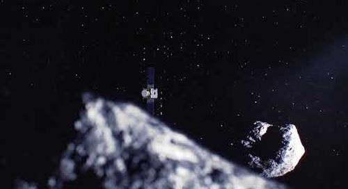 European Space Agencys Rosetta Spacecraft