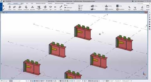 Take Advantage of the New Copy/Move Preview - Tekla Structures 2021