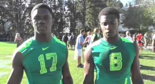 CJ Sanders and Shaun Crawford - The Opening