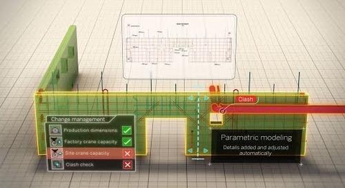 Tekla Intelligent 3D Modeling for Precast Concrete Construction