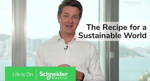 The Recipe for a More Sustainable World | Schneider Electric