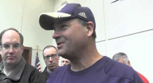 ND's Mike Denbrock Talks To The Media (Apr. 7)