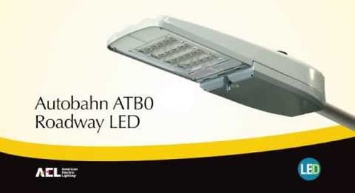 Autobahn ATB0 LED Roadway & Security Luminaire