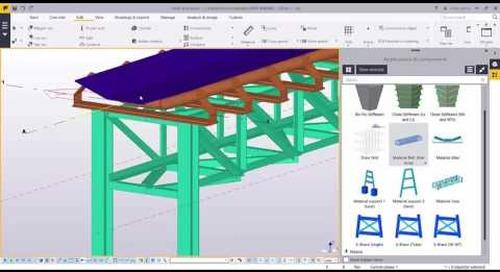 Tekla Structures para Soluciones de Minería