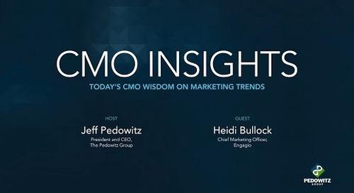 CMO Insights: Heidi Bullock, Chief Marketing Officer, Engagio