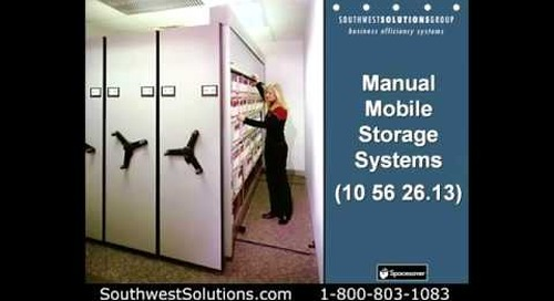 Mobile High Density Construction Specifications CSI 10-56-26 General Contractors