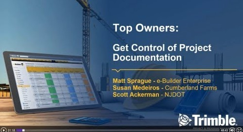 Get Control of Project Documentation