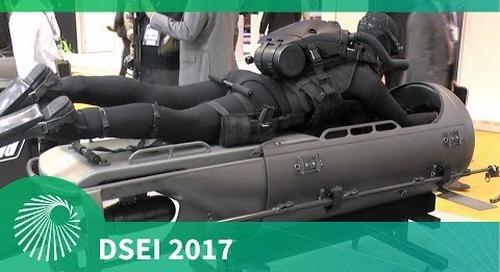 DSEI 2017: Diver Propulsion Device - STIDD Systems