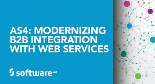 AS4: Modernizing B2B Integration with Web Services