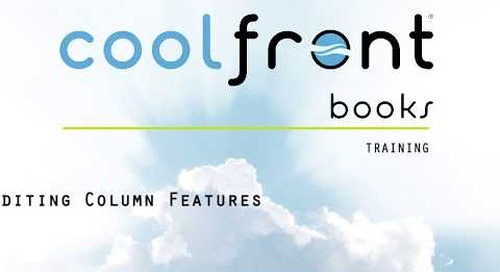 Coolfront Books - Editing Column Features