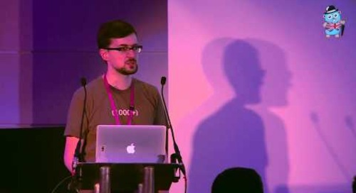 Cockroach Labs co-founder Ben Darnell speaks at Golang UK Conference 2015