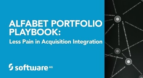 Alfabet Portfolio Playbook: Faster Gain, Less Pain in Acquisition Integration