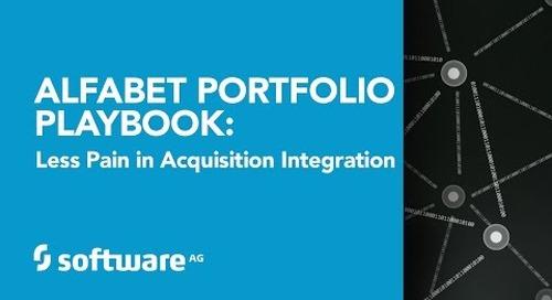 Alfabet Portfolio Playbook: Faster Gain, Less Pain in Acquisition Integration