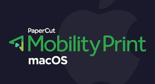 Mobility Print: Set Up Printing for macOS