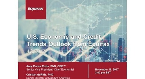 Q4 Economic and Credit Trends Outlook from Equifax