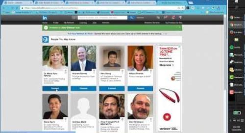 Volume 1: Lenovo DCG Social Sales Training Video - LinkedIn Growth Hacking