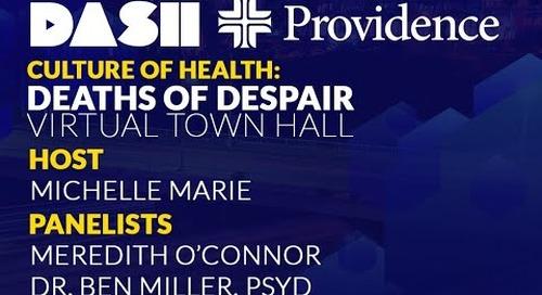 Culture of Health: Deaths of Despair
