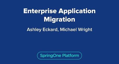 Enterprise Application Migration