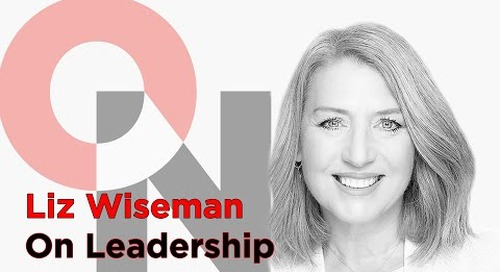 Are You Diminishing Potential?   Liz Wiseman   FranklinCovey clip