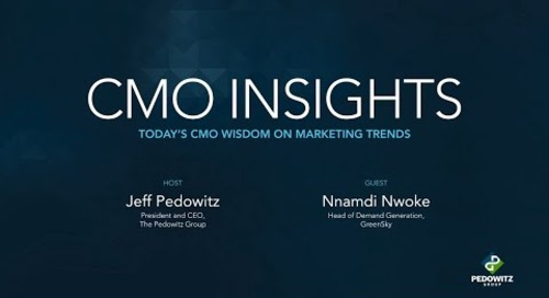 CMO Insights: Nnamdi Nwoke, Head of Demand Generation, GreenSky