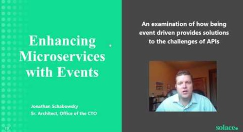 How to Enhance Microservices with Events