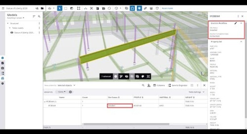 Introduction to Property Sets and the Content Browser in Trimble Connect