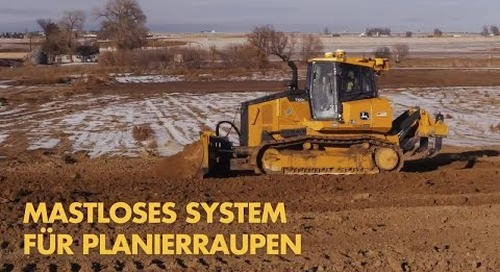 Trimble Earthworks Dozer - German