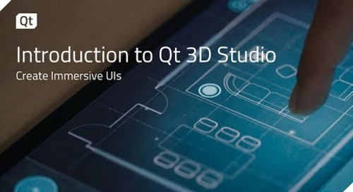 Introduction to Qt 3D Studio {on-demand webinar}