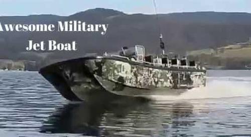 Military Jet Boat