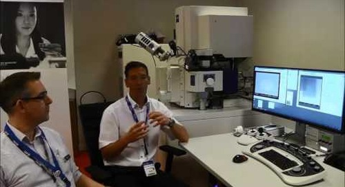 ZEISS @ EMC2016: Crossbeam FIB-SEM Interview by Chris Parmenter