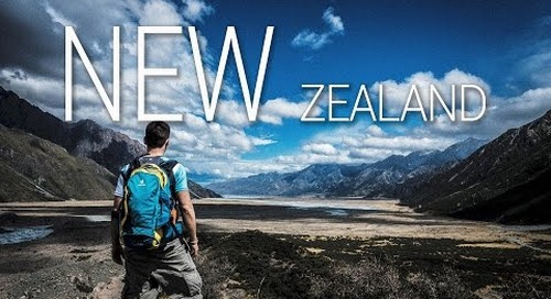 New Zealand Cinematic - A Roadtrip on the South Island NZ