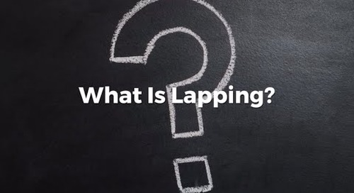 What is Lapping?